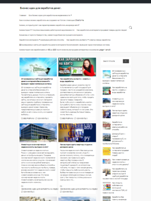 Бизнес идеи для заработка денег, без вложений. CMS WordPress. №5.